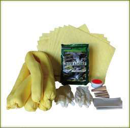 Eco-Absorbent's Truck Spill Package