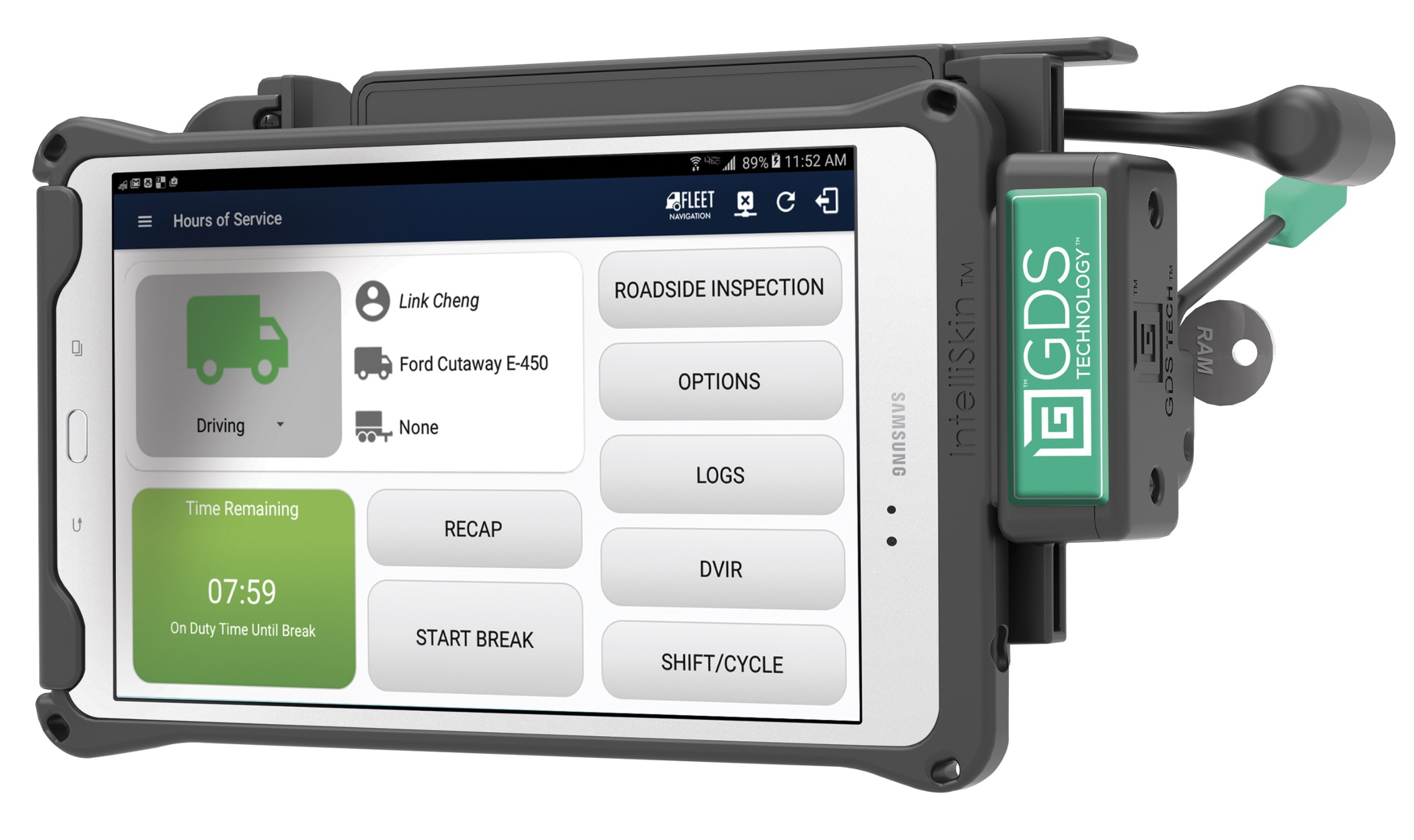 Magellan eld self certified built with samsung for Federal motor carrier phone number