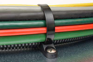 Heavy Duty Screw Mounts Around Cable Wires