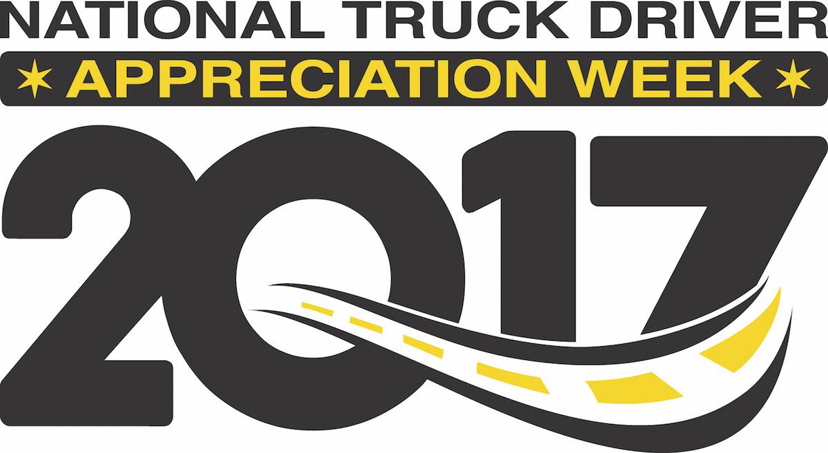 National Truck Driver Appreciation Week logo