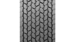 View of tire tread