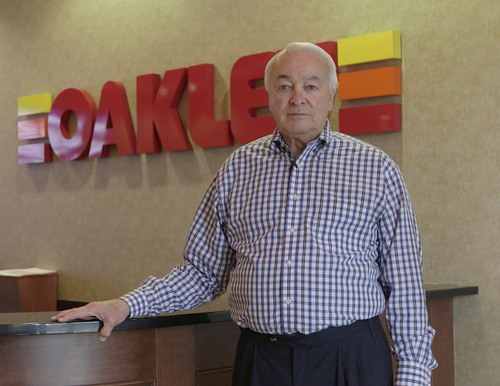 Thomas Oakley, president and CEO of Oakley Transport