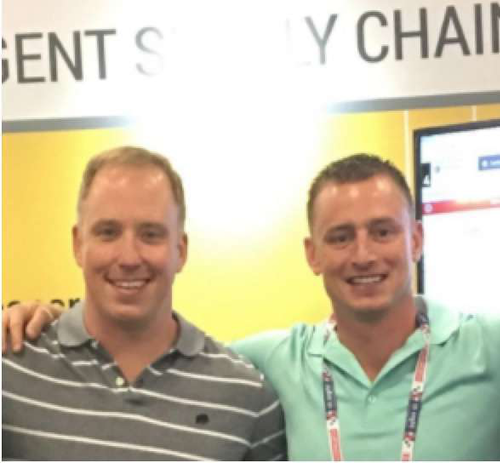 Joe Neal, director of information technology for Heniff Transportation, and Justin Neal, director of business integration