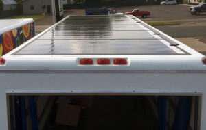 eNow Rayfrigeration zero-emissions refrigeration unit