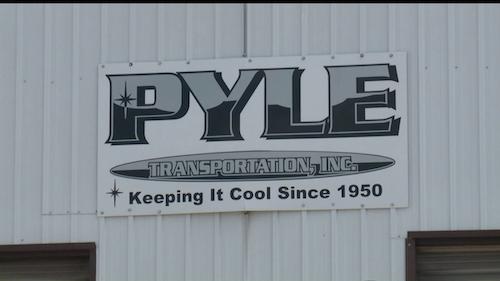Pyle Transportation Sign