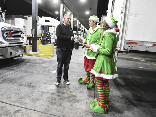 Elves and a Truck Driver