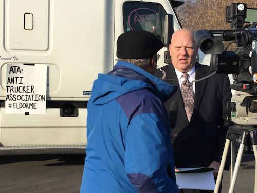 Owner-Operator Speaks to Reporter