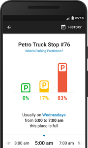 Trucker Path Parking Prediction App
