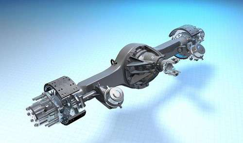 Kenworth adds BWF, Dana single-drive axles to T270, T370