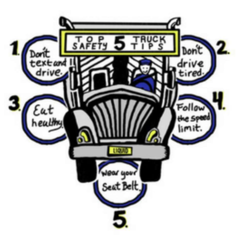 Top 5 Truck Safety Tips
