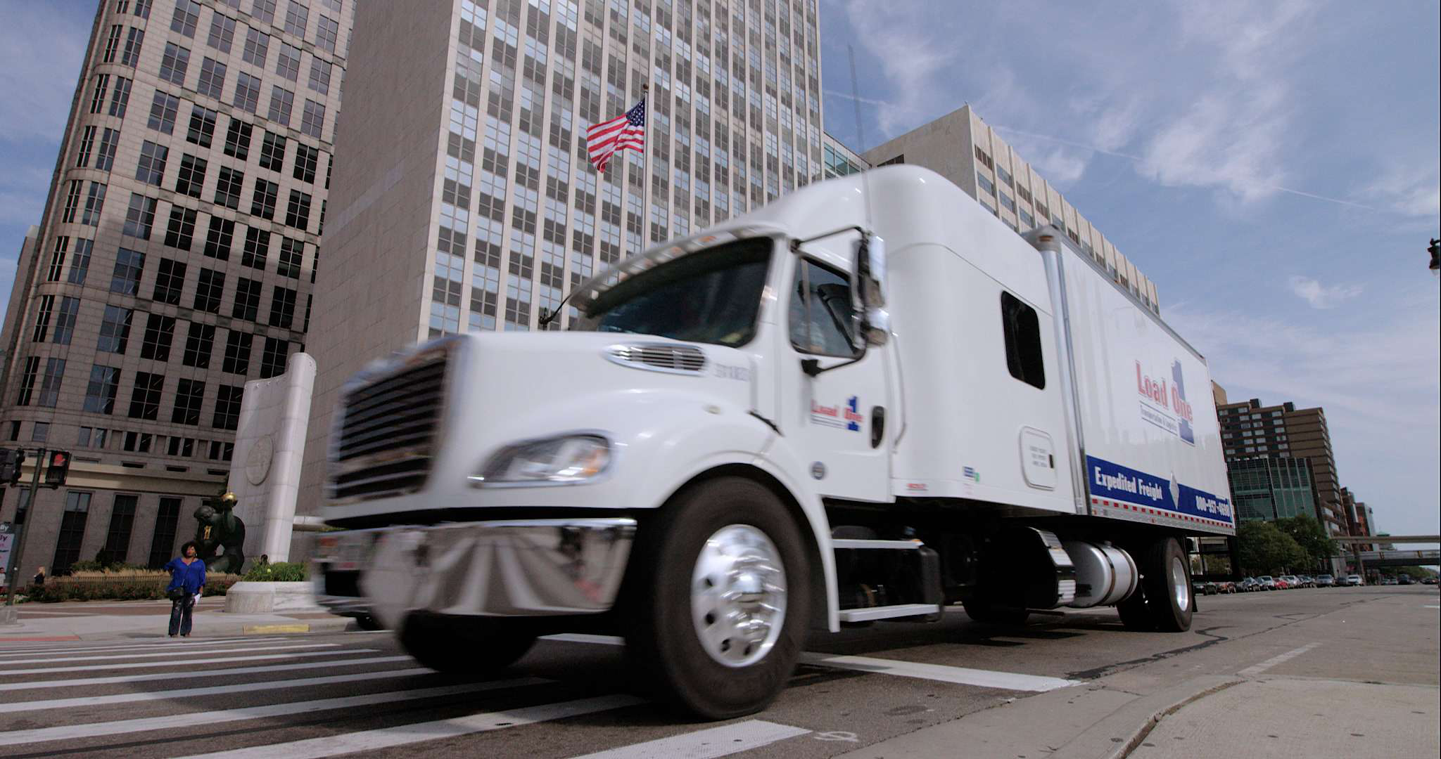 Load One mobile app helps truck drivers optimize planning