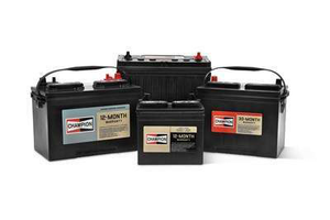 Champion's heavy-duty commercial batteries