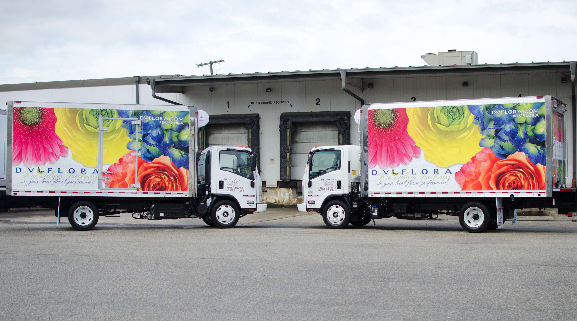 Delaware Valley Floral Group Trailer Graphics