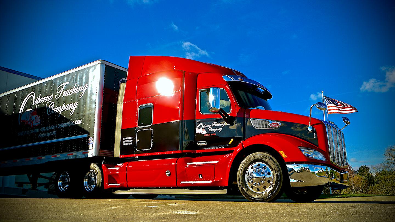 Osborne Trucking Company Trailer Graphics