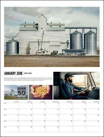 Volvo Trucks 2018 Calendar