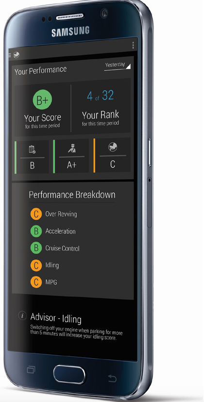 Blue Tree Systems' Driver Performance Mobile App