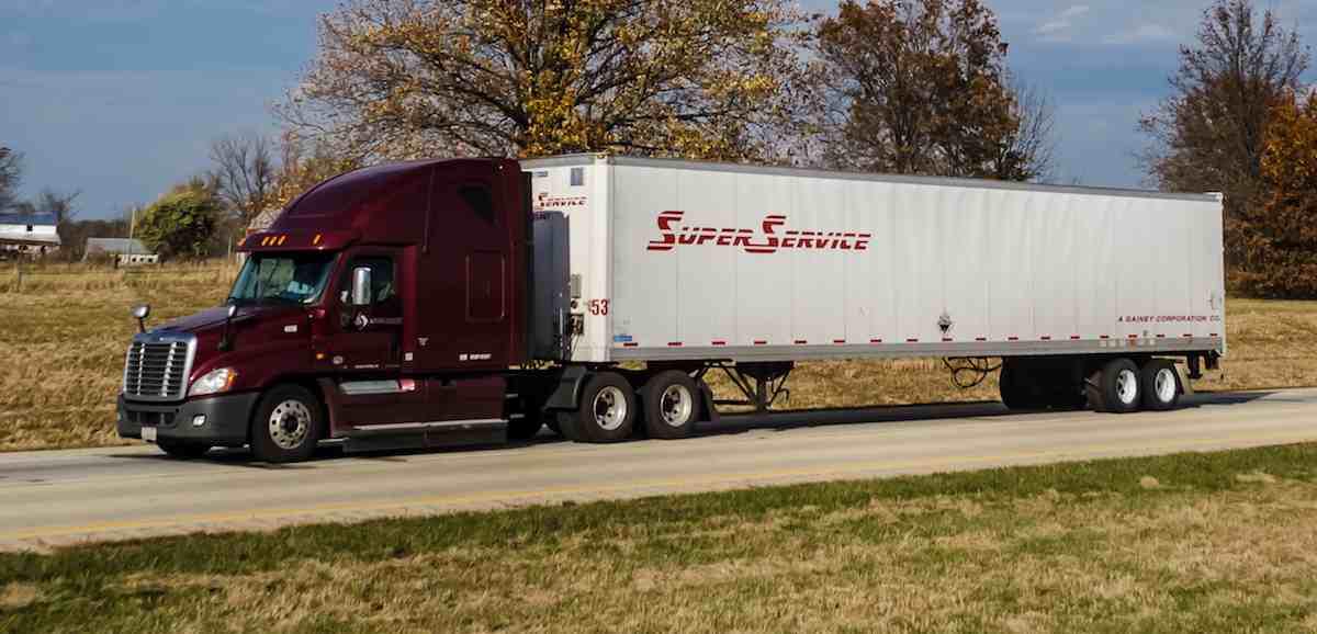 Super Service Semi-Truck