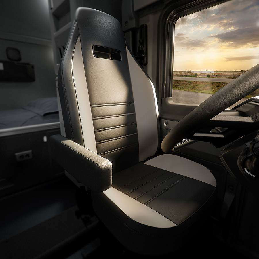Mack Trucks Sears Seating Team Up With Seat On Anthem Truck