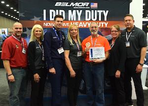 U.S. Xpress driver, military vet awarded at MATS
