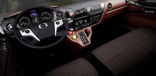 interior for the hino XL