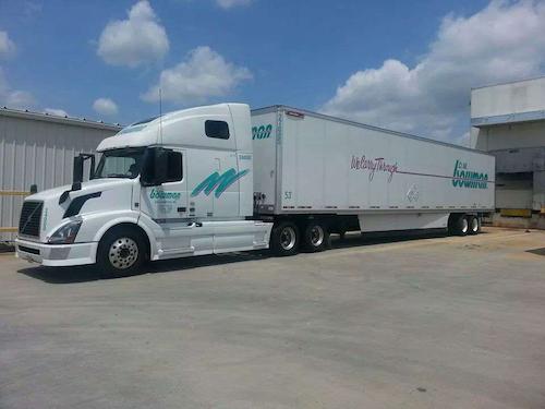 D.M. Bowman semi-truck