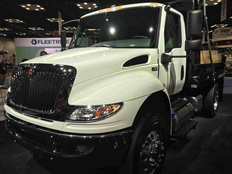 International MV Series Truck