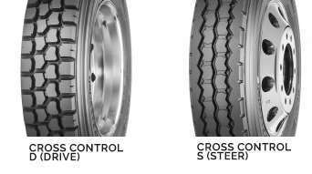 Cross Control Drive and Steer Tires