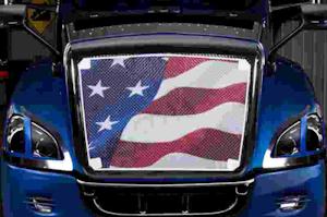 Belmor BS-2196-1 Black Bug Screen Truck Grille Cover for 2006-2018 International BE School Bus