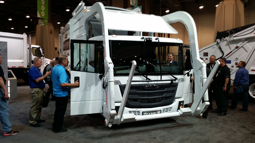 Freightliner reveals EconicSD at WasteExpo