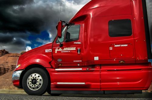 U.S. Xpress semi truck