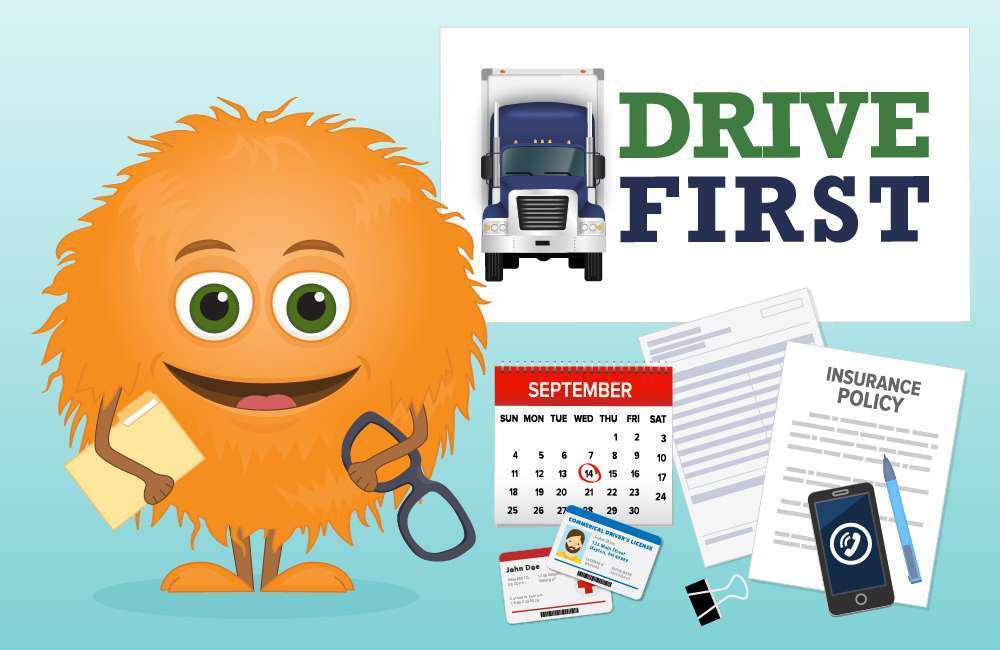 Drive First mascot