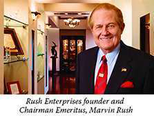 Rush Truck Center founderW. Marvin Rush
