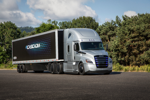 Two New Electric Trucks Debuted From Freightliner Trucks