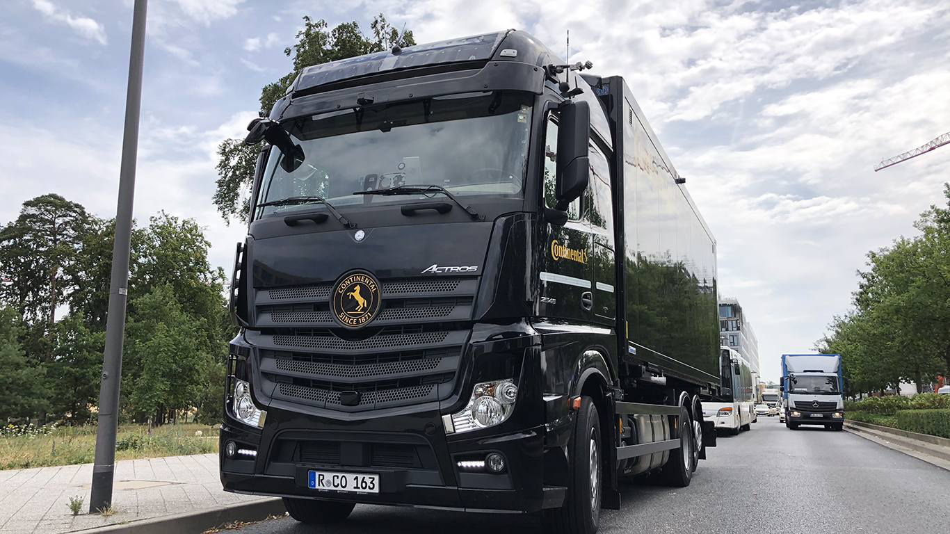 Continental Semi-Truck