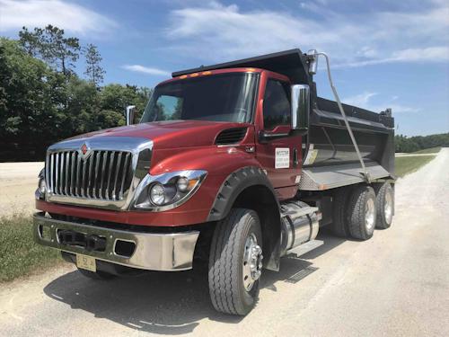 International HV Series Truck