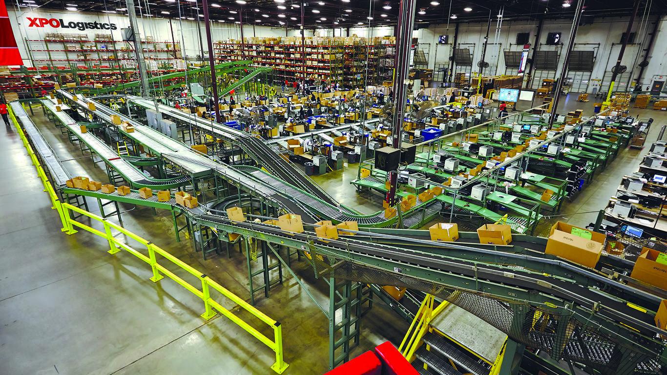 XPO Logistics warehouse