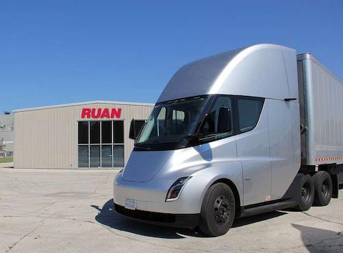 Tesla Electric Semi Truck Spotted At Arkansas Based Jb Hunt