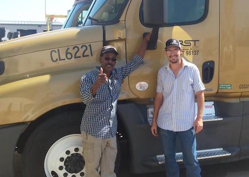 CRST Truck Drivers