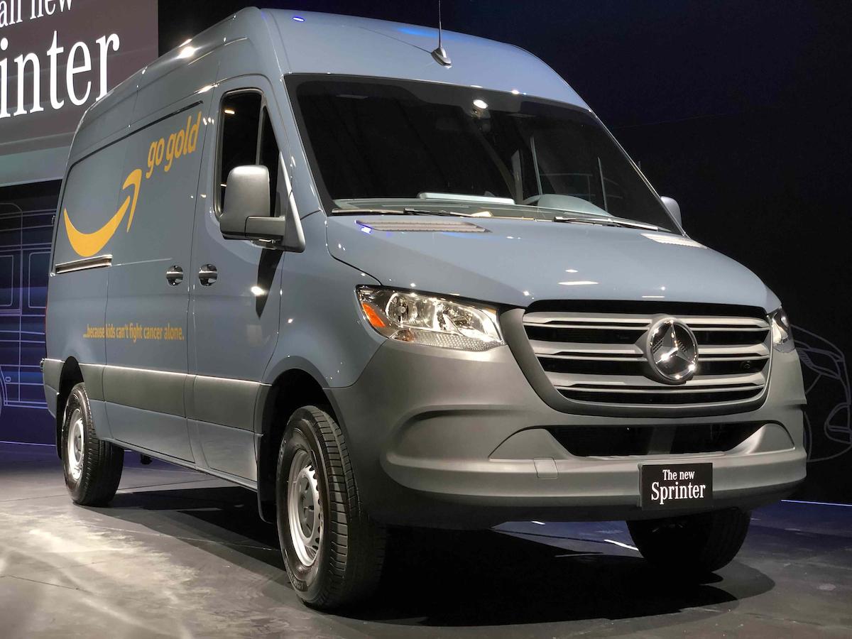 Mercedes Benz Vans Receives Amazon Order For 20k Sprinters Commerical Carrier Journal