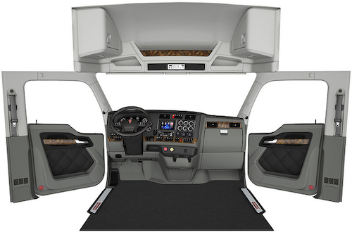 Kenworth adds refreshed interior for T680, intros new fuel