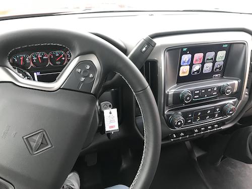 interior cab dash for the international class 4/5 cv series truck