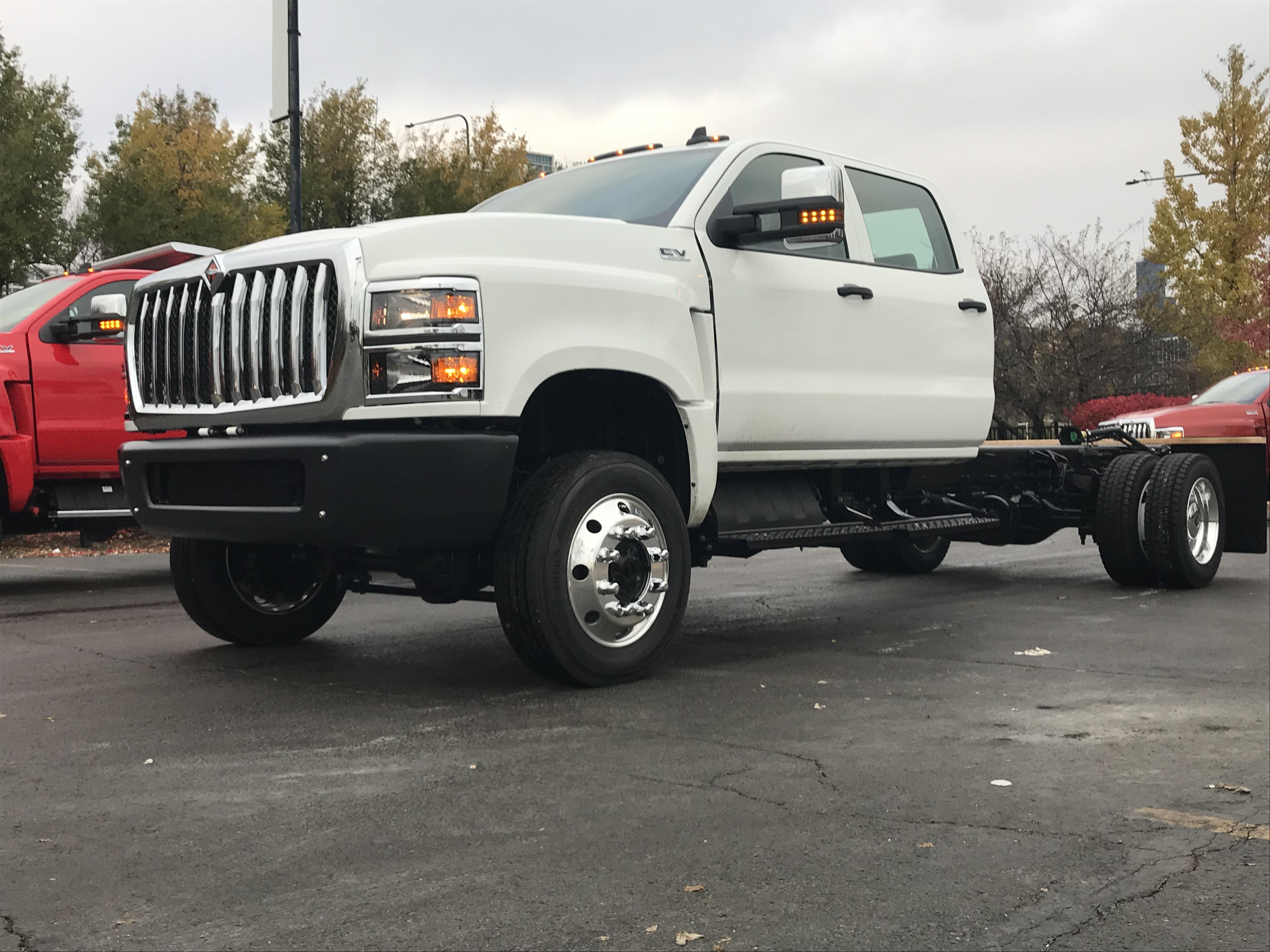 international class 4/5 truck cv series