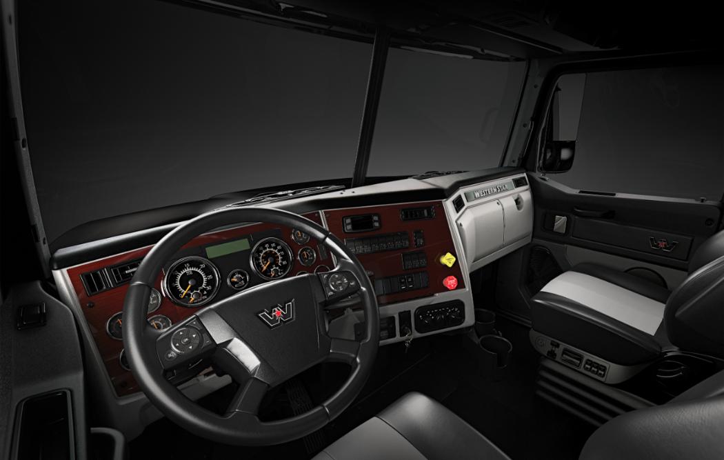 Western Star Truck Interior