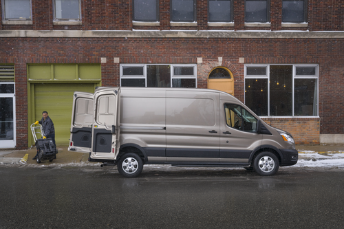 Ford to add AWD, new engines to commercial van lineup