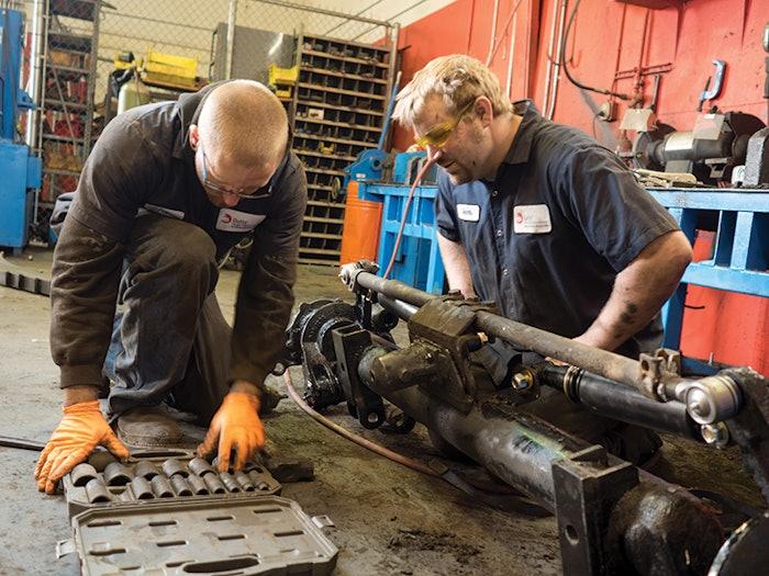Diesel Mechanics Betts Truck Parts & Service