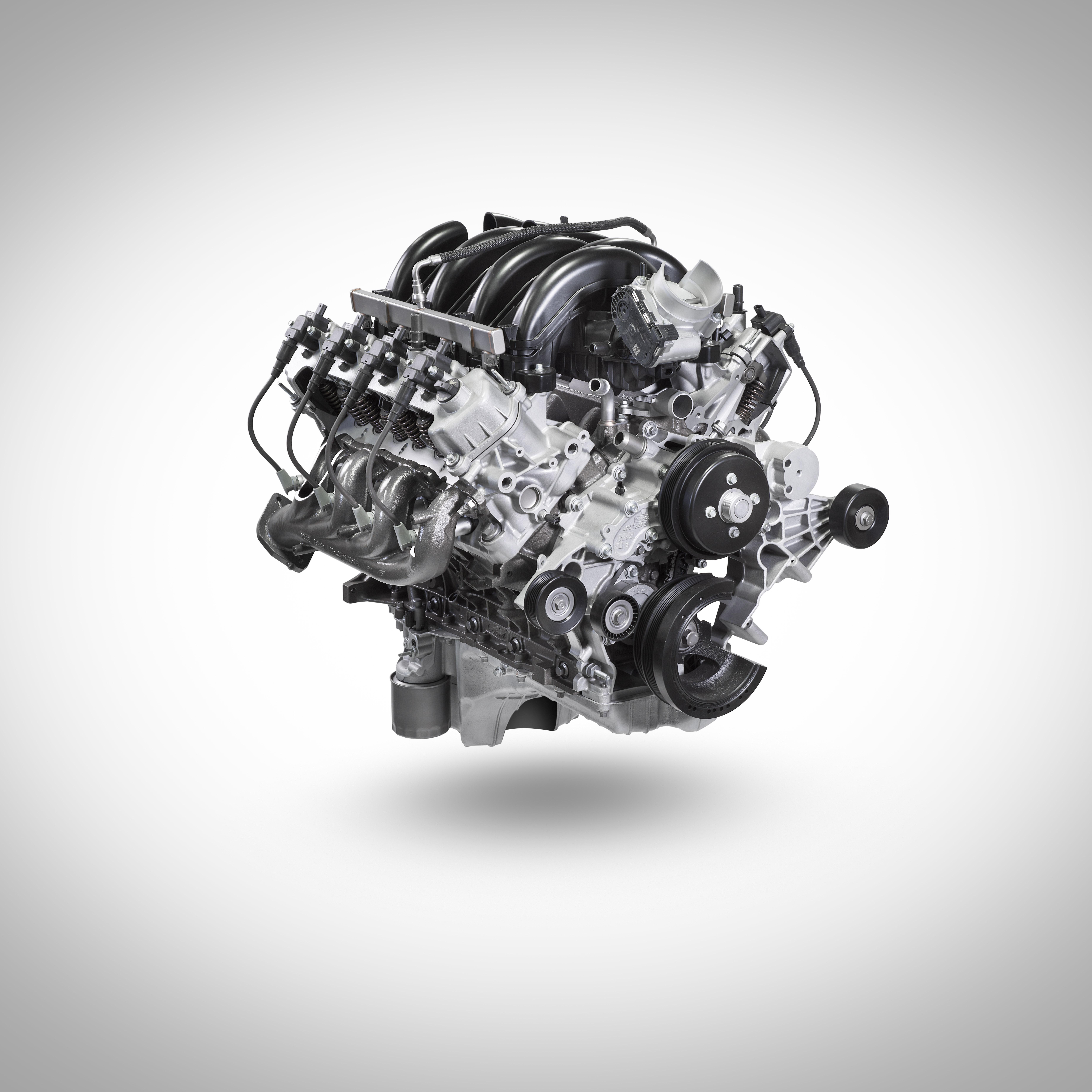 Ford's 7.3-liter pushrod V8 engine