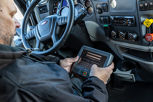 Smith Transport uses safety products from multiple vendors. Each serves a different purpose. With the SmartDrive system, trainers can view data together from the separate systems in one dashboard when they coach drivers.