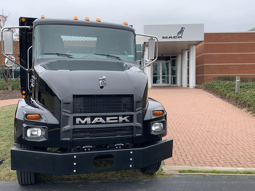 Mack Trucks' medium duty truck