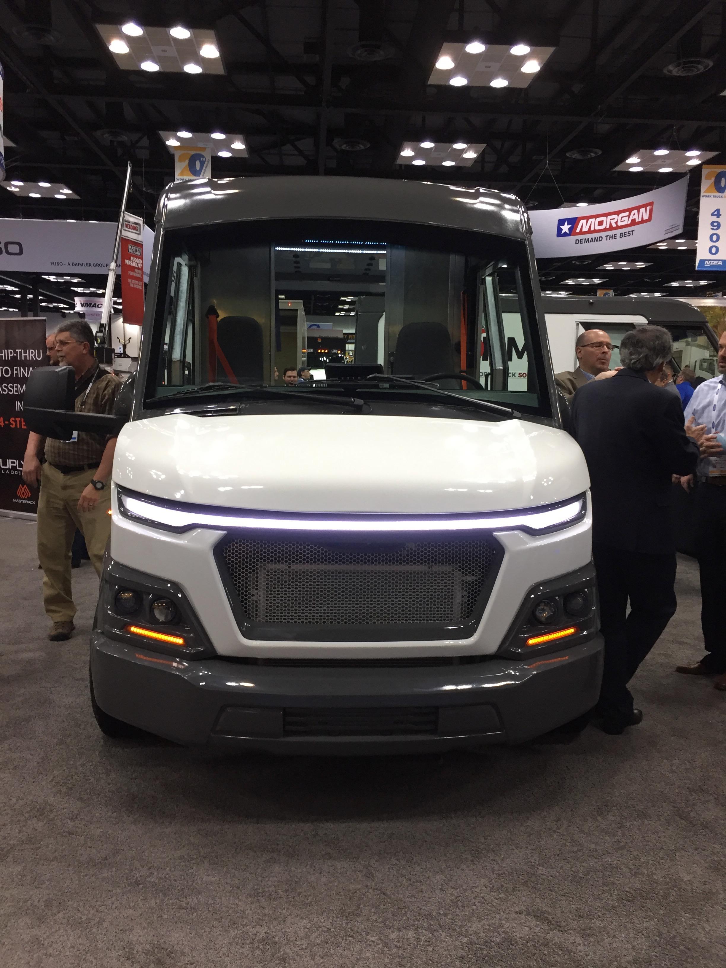 Morgan Olson all-electric van