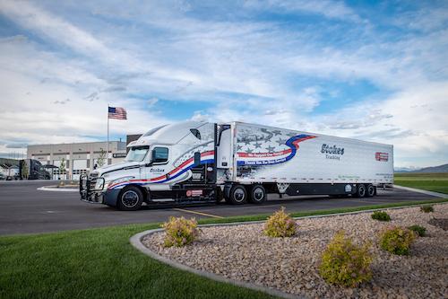Semi-truck for Stokes Trucking
